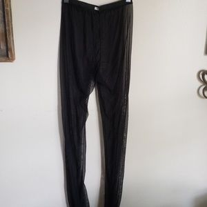 Pants - Sheer legging no name